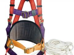 A safety system for working at height