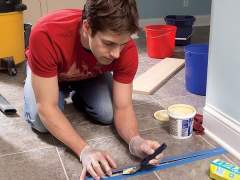 How to repair vinyl flooring