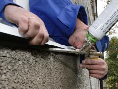 Sealing the window sill