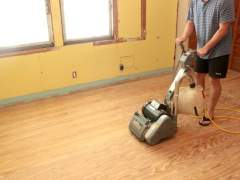 How to sand a hardwood floor