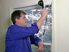 How to clear condensation from double glazed windows