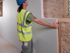 Insulated interior walls correctly