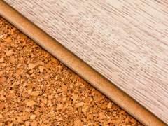 Laminate cork underlay