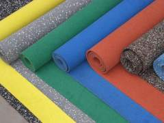 Colors rubber linoleum