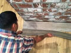 Vinyl flooring imitation wood