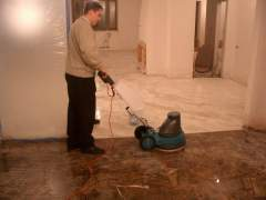 Special polishing marble floors