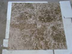 Tiles made of natural marble