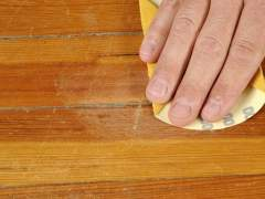 Eliminate scratches on the floor