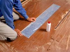 How to lay linoleum flooring