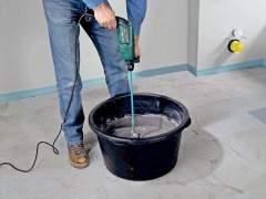 Preparation of plaster