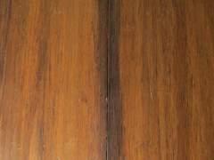 Old bamboo floor in need of polishing