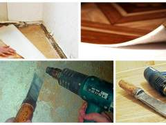 Technology remove linoleum