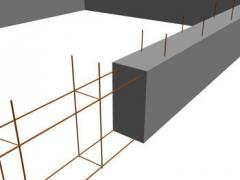 The reinforcement of the foundation