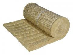 Rockwool mats for insulation of walls