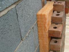 Insulation using concrete blocks