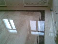 Floor finishing marble