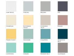 Color options mineral paints
