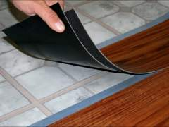 Waterproof plastic laminate