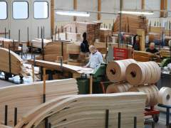 The plant for the production of wood veneer