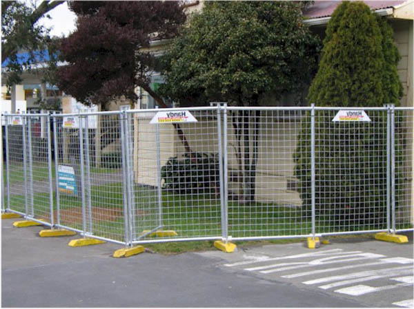 Why a mobile fence is so widely used today?