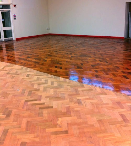 Refinishing Parquet Floors Ways To Do This Time Consuming